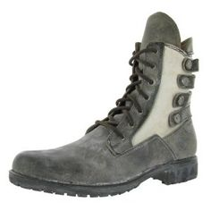 Click on the image for more details! - AFFLICTION Bruch Leather Distressed Combat Mens Boots (Apparel)