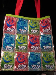 Kool-Aid Pouch Bag, Princess C wants to make this
