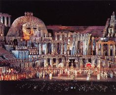 Opera Aida: in the 2000 year old arena of Verona; magical moments on our Italy #cruises