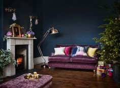 Dfs Metro Sofa Review Holly Hunt Mesa Dimensions 25 Best Sofas Images On Pinterest Bonus Rooms And Living Purple Blue Walls With Christmas Decorations Decor Room