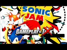 Sonic Jam gameplay for the Sega Saturn (Japan version)