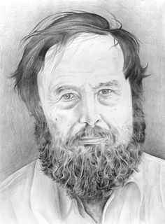Portrait of Harald Szeemann. Pencil and Paper by Phong Bui.    http://brooklynrail.org/2006/12/art/the-bias-of-the-world    The Bias of the World: Curating After Szeemann & Hopps by David Levi Strauss (2007)