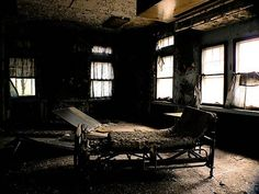 Children's Psych Hospital Abandoned Room