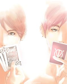 TVXQ fanart <3   credit to the owner ^_^