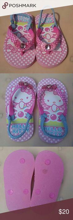 Hello Kitty flip flops NEW Size 9-10 NEW Hello Kitty Shoes