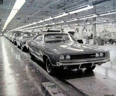 Assembly line picture from back in the day