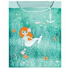 Sea, Sailor, Sun: Mermaid Lagoon, @thelandofnod Nod Institute of Art.