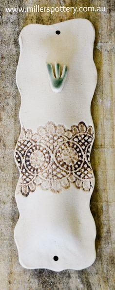 Australian handmade ceramics and Judaica - Mezuzah by www.millerspottery.com
