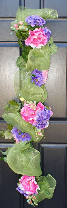 Easter Table Centerpiece made from Deco Mesh by FestiveTouch, $99.00