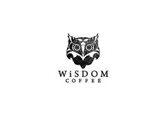 Owl Coffee Logo Wisdom Coffee Logo Logos