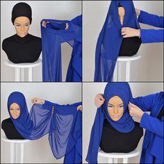 Chiffon Express Hijab Code: PS-0007 Muslim Women by HAZIRTURBAN