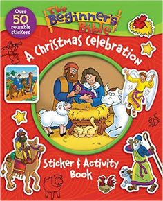 The Beginner's Bible A Christmas Celebration Sticker and Activity Book Review -  #HGG