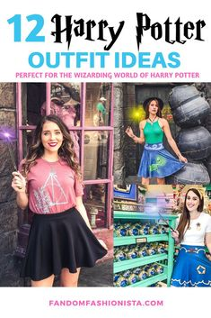 12 Harry Potter Outfits for the Wizarding World of Harry Potter #wizardingworldofharrypotter #wizardingworld #harrypotterworld Harry Potter Ring, Harry Potter Disney, Harry Potter Wizard, Harry Potter Outfits, Harry Potter Universal, Harry Potter World, Star Wars Outfits, Disney Bound Outfits, Ravenclaw Scarf