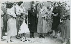 1954, ultima visita de Gabriela Mistral a Vicuña