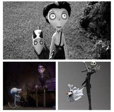 Tim Burton's Hidden Trilogy.