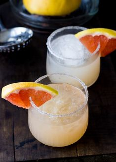 grapefruit margarita -treats and eats