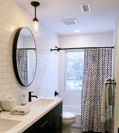 Harbour Stripe Shower Curtain | Pinterest | Curtain accessories ...