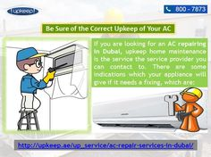if your air conditioning unit is showing such signs then, without losing any time you consult a specialist to get the problem fixed. Upkeep ac installation in duabai, AC service in dubai and ac repairing service provider you can contact to :- http://upkeep.ae/up_service/ac-repair-services-in-dubai/