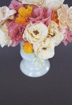 #Crepe #Paper #Bouquets