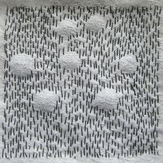 Embroidery Fabric, Fabric Art, Embroidery Stitches, Embroidery Ideas, Textile Tapestry, Textile Art, Textiles, Upcycle Home, Visible Mending