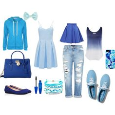 """Blue"" by msara23 on Polyvore"