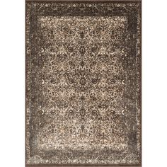 9+x12+ for $690.  Says it looks very gray in person. Kingsley Bronze/ Slate Rug (9'2 x 12'2)
