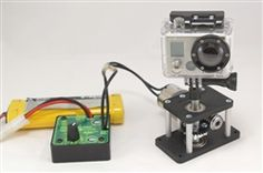 Time-Lapse Tripod head for GoPro and other Cameras