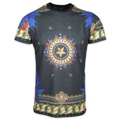 Criminal Damage Tomb Sublimation T-Shirt in Multi