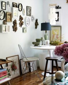 "Ikea ""Docksta"" tulip table"
