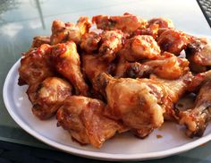 I would argue that deep-frying is not the best way to cook chicken wings because they already contain enough fat to fry themselves. Get the recipe for my Chili-Glazed Wings.