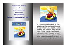 Lots of fun for your little ones Fun with an educational twist School Teacher, Fun Activities, Your Child, More Fun, Little Ones, Children, Kids, Poems, Singing