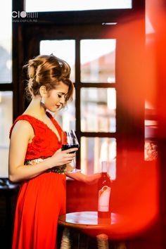lady in red ciofilm. asconi