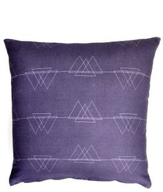 Silhouetted Peaks Pillow Cover #LEIFgiftygiveaway