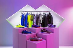 Robert Storey Studio for Nike Women's Fall Holiday Presentation 2014