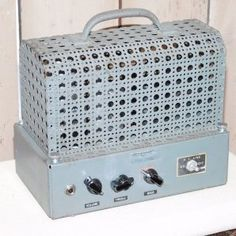"VINTAGE 1940's Custom Build - Industrial TUBE ""Lunchbox"" Guitar Amp"