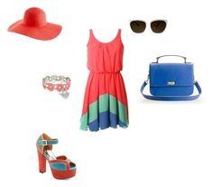 """summer time"" by barbaranecho on Polyvore featuring J.Crew, Rebecca Minkoff and Lipsy"