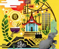 Thai inspired illustrations for the Monocle Mag   Art and design inspiration from around the world - CreativeRootsArt and design inspiration from around the world – CreativeRoots