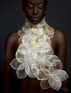 Body adornment inspired by natural forms