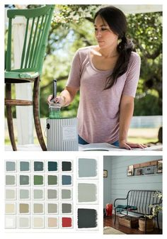 Find out what colors are Joanna Gaines' 2018 paint color picks and where she thinks we are heading in color. Featuring colors from Joanna's Magnolia Home paint line she shares what colors are inspiring her heading into the new year.