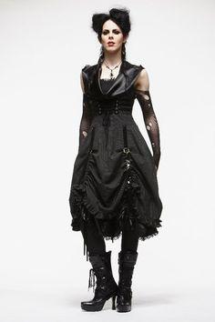 Erebus Pinstripe Spin Doctor dress