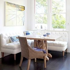 dining nook bench seating - Google Search