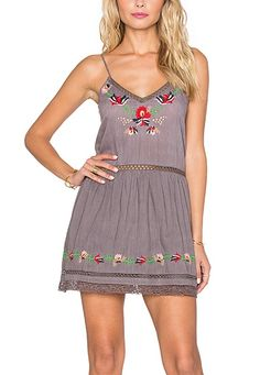 WOMENS BLOOM EMBROIDED SLIP DRESS TULAROSA SIZE M L NEW STYLE IN FASHION NWT  | eBay