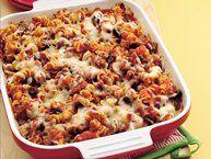 Tater Tot Pizza Casserole recipe from Betty Crocker