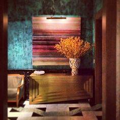 MODERN GOLD SIDEBOARD  Kelly Wearstler Viceroy Miami   bocadolobo.com/ #modernsideboard #sideboardideas