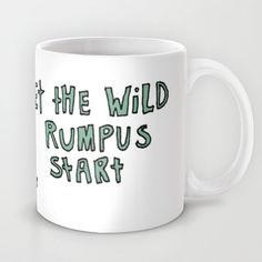 Where The Wild Things Are Mug by Lauren Draghetti - $15.00