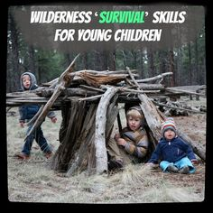 Wilderness Survival Skills for Young Children by Outside Mom
