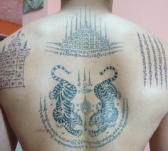 sak yant tattoos.
