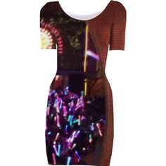 Rainbow Lights Party Dress Too from Print All Over Me