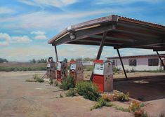 Jason Kowalski.jpg Painting of Abandoned Americana