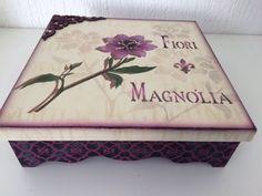 Caixa Fiore Magnolia By Livia Fiorelli
